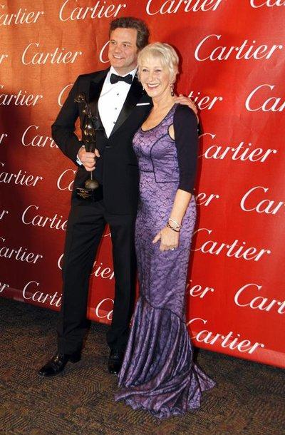 Colinas Firthas ir Helen Mirren