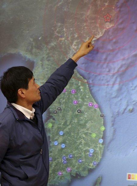 Numanoma Šiaurės Korėjos branduolinio ginklo bandymo vieta