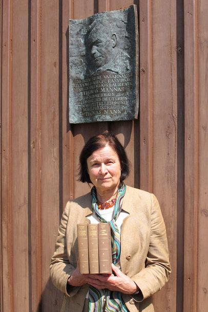 Vokietijos prezidento Joachimo Gaucko dovana – antikvarinė Thomo Manno romano laida