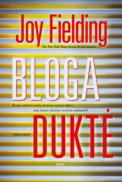 "Joy Fielding ""Bloga duktė"""