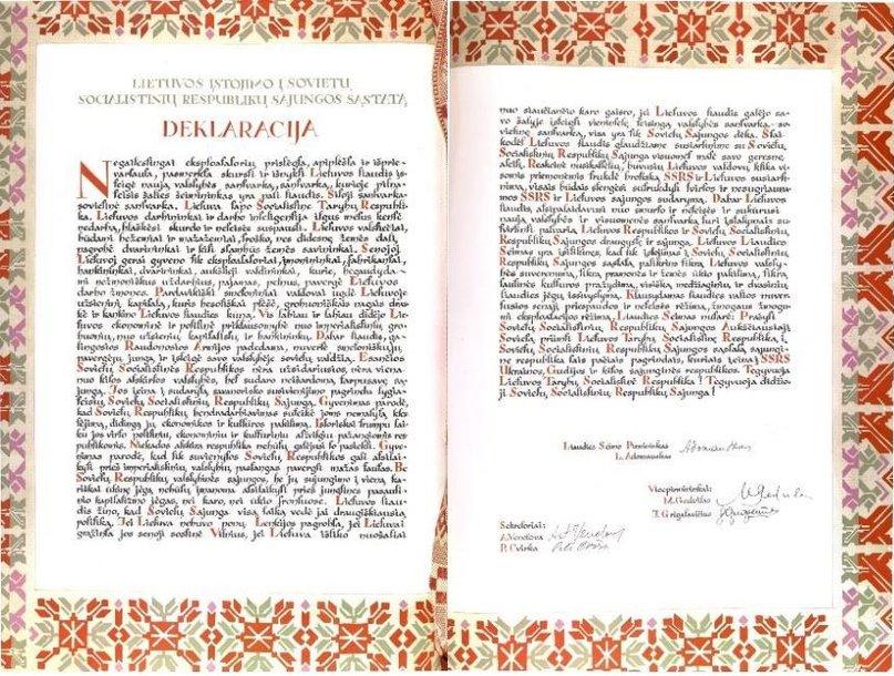 Lietuvos liaudies seimo deklaracija