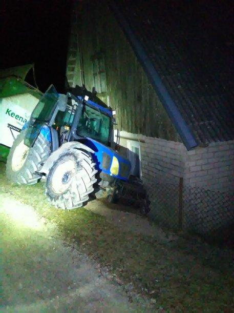 Pavogtas traktorius