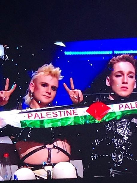 """""""Eurovizijos"""" finale – Islandijos atstovų akibrokštas:"""