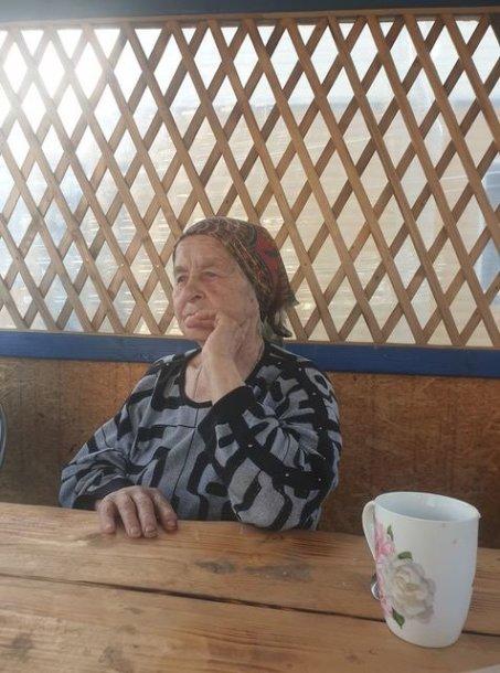 Nuo gaisro nukentėjusi Krakūnų kaimo gyventoja Emilija Komiago