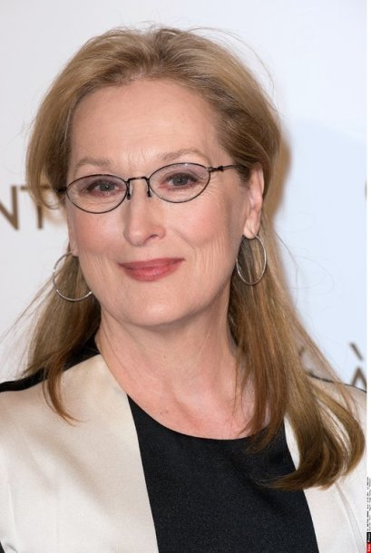 """Meryl Streep attends the screening of """" August: Osage County """" directed by John Wells at Cinema UGC Normandy in Paris, FRANCE-14/01/2011./PDN_008.NIV/Credit:PDN/SIPA/1402132239"""