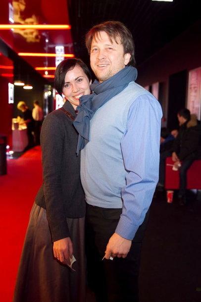 Darius Petkevičius su žmona Julija