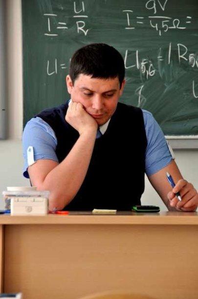 Tomas Kivaras klasėje