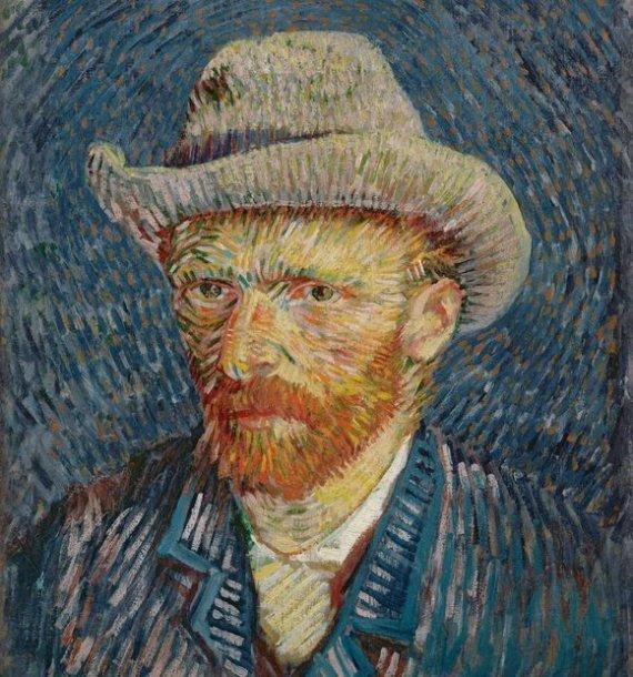 Vincento van Gogho autoportretas