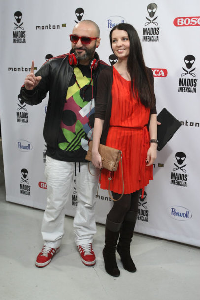 DJ Sezzy su žmona Agne