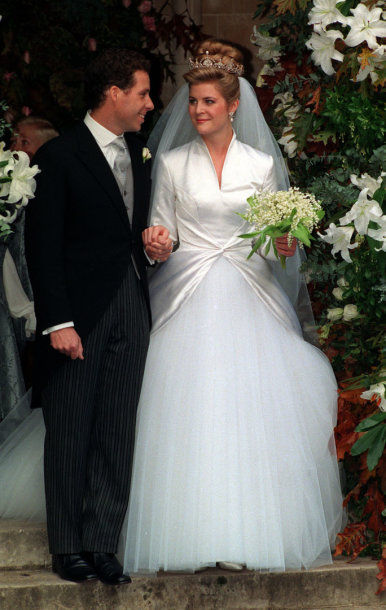 Davidu Armstrongo-Joneso ir Serenos vestuvės