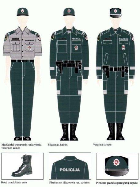 Policininkų uniformos