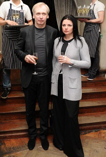 Gintaras Rinkevičius su žmona Donata