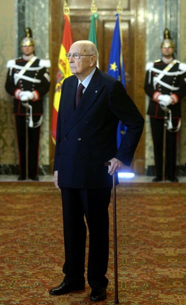 Italijos prezidentas atsistatydino