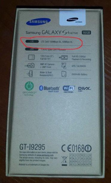 """Ant produkto pakuotės nurodoma, kad """"Samsung S4 Active"""" palaiko 4G ryšį, tačiau jau metus telefoną turintis Andrius 4G ryšiu dar nė kartą nepasinaudojo"""