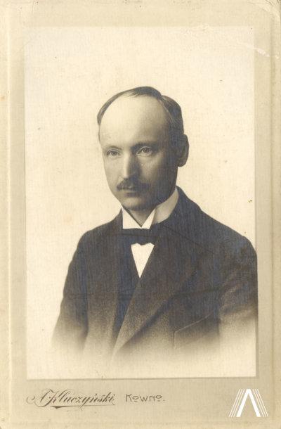"""A.Vienuolis 1922 m. """"Brangiam draugui Šeiminyškių Donatui Užužerių Antanas"""""""