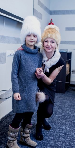 Violeta Malevska-Štenger su dukra Paule