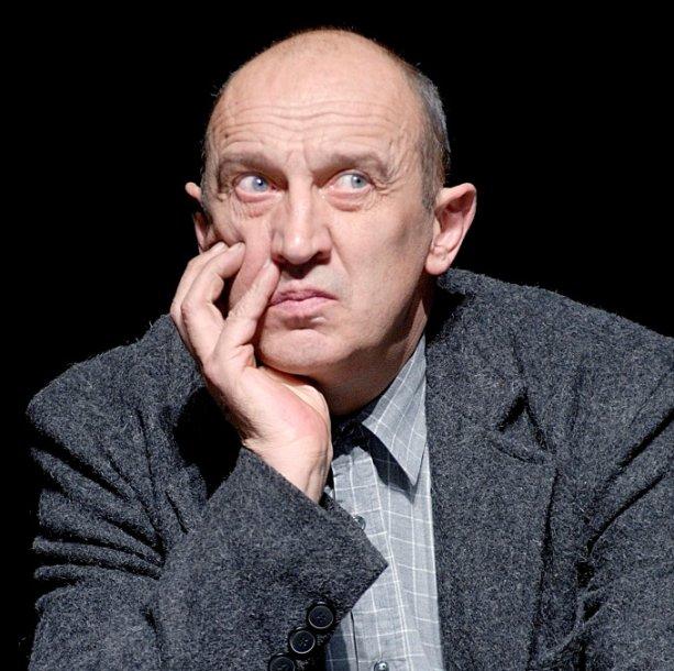 """Paties režisuotame spektaklyje """"Aš, Fojerbachas""""."""