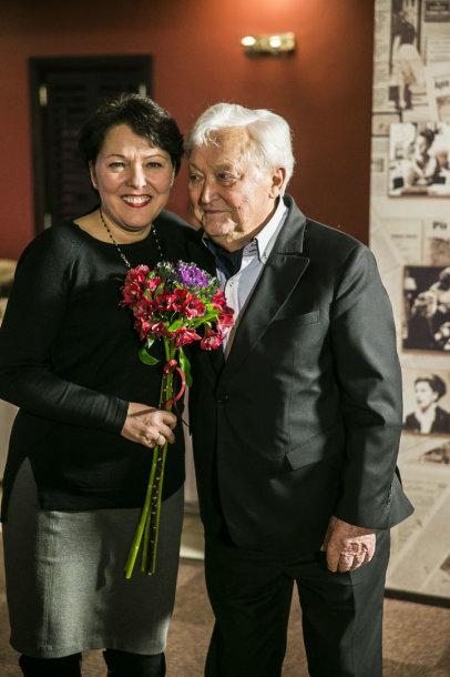 Lolita Bytautaitė ir Algimantas Čekuolis
