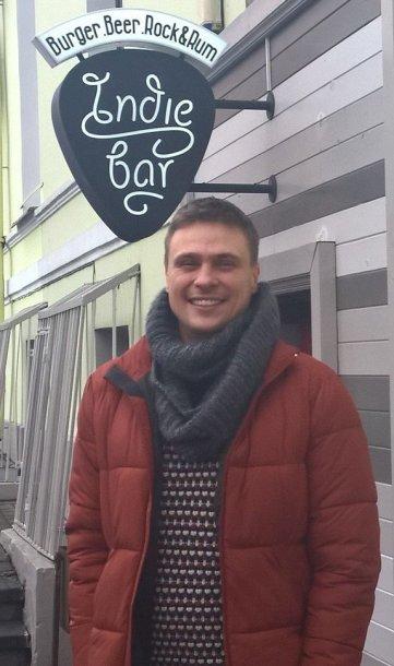 """""""Indie Bar"""" savininkas Arvydas Samalius"""