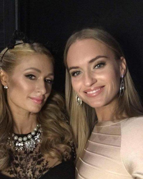 Paris Hilton ir Gintarė Gurevičiūtė