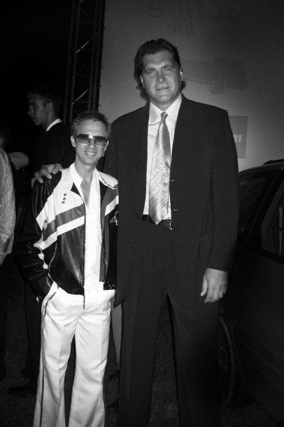 Linas Adomaitis ir Arvydas Sabonis 2004-aisiais