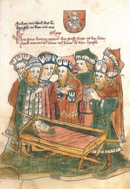 Vytauto Didžiojo mirties iliustracija knygoje