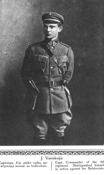 Jonas Variakojis
