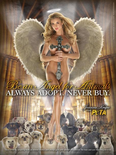 Audrina Patridge PETA reklamoje
