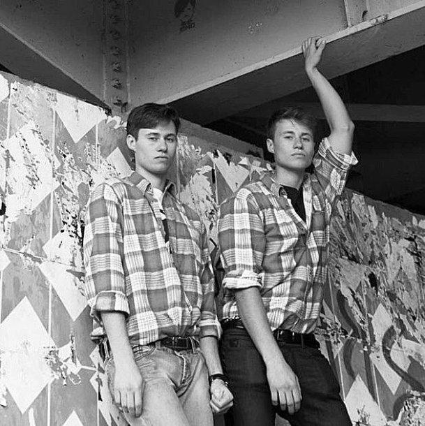 Tomas Alenčikas-Alen Chicco su dvyniu broliu Roku