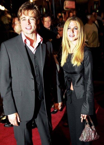 Jennifer Aniston ir Bradas Pittas