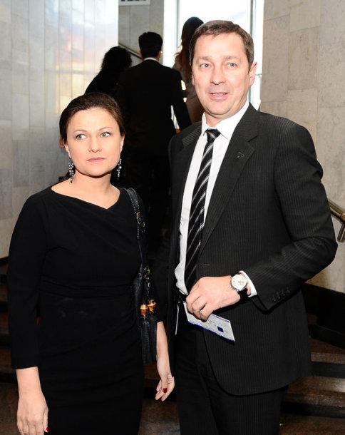 Agnė Zuokienė ir Artūras Zuokas