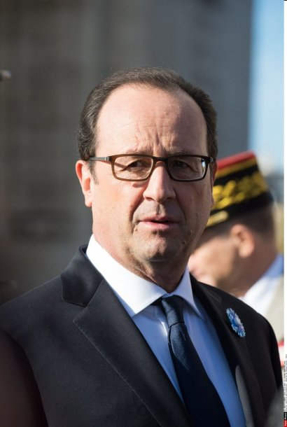 Prancūzijos prezidentas Francois Hollande'as