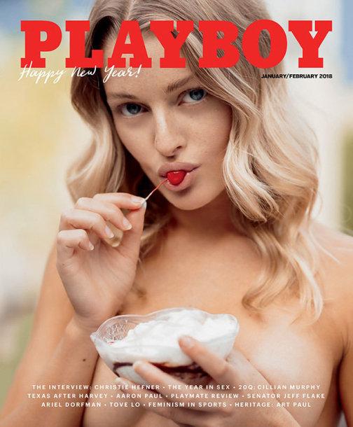 """""""Playboy"""" viršelis"""