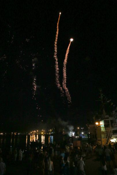 Jūros šventės fejerverkai