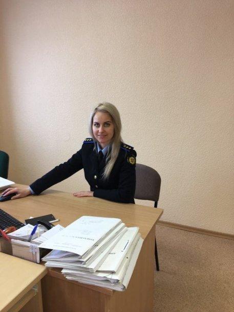 Inga Molevaitė, Probacijos tarnybos pareigūnė iš Jurbarko