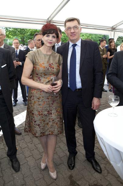 Janina Butkevičienė ir Algirdas Butkevičius