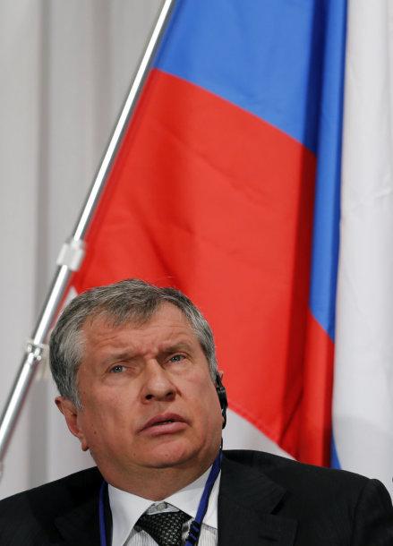 """""""Rosneft"""" prezidentas Igoris Sečinas"""