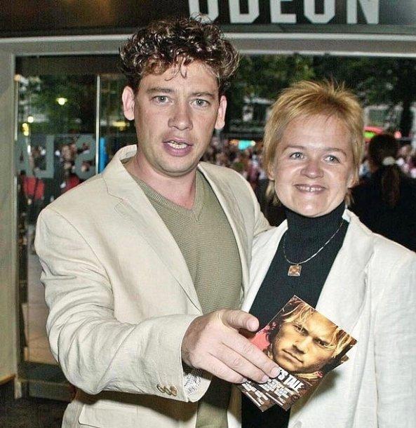 Dexteris Fletcheris ir Dalia Ibelhauptaitė 2004 metais