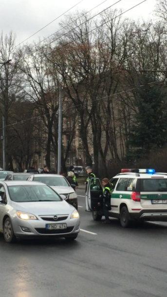 Vilniuje sulaikyta girta vairuotoja