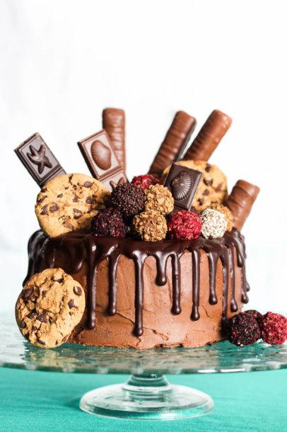 Šokoladinis smaližių tortas
