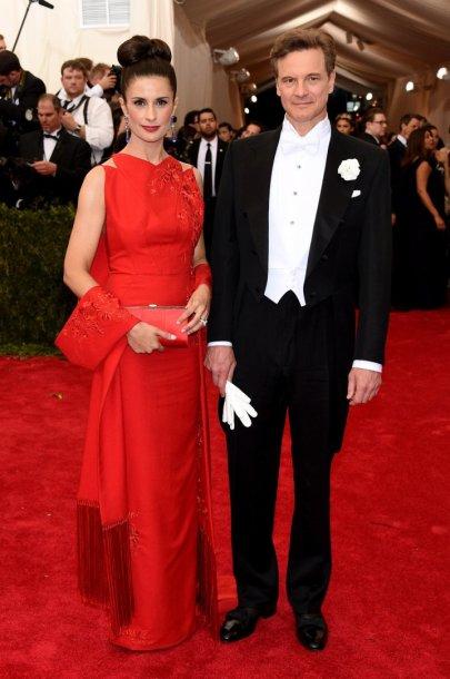 Colinas Firthas su žmona Livia Giuggioli