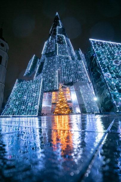 Vilnius' Christmas tree 2020