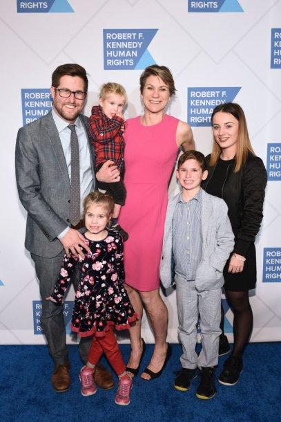 Davidas McKeanas, Maeve Kennedy Townsend Mckean su vaikais