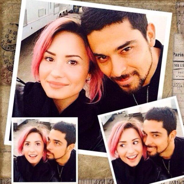 Demi Lovato ir Wilmeris Valderrama