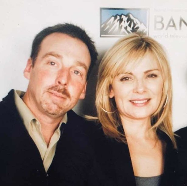 Kim Cattrall su broliu Chrisu Cattrallu