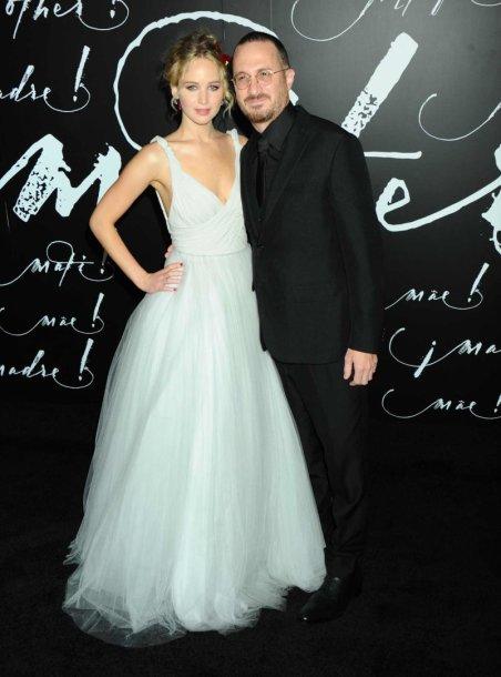 Jennifer Lawrence ir Darrenas Aronofsky