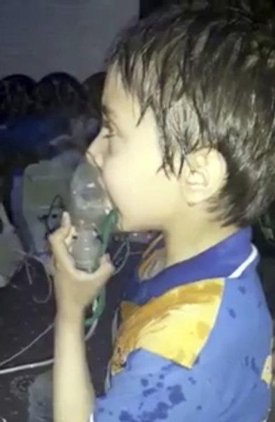 Cheminė ataka Sirijos Dumos mieste
