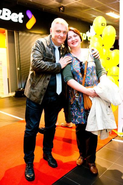 Audrius Rakauskas  su žmona Danguole