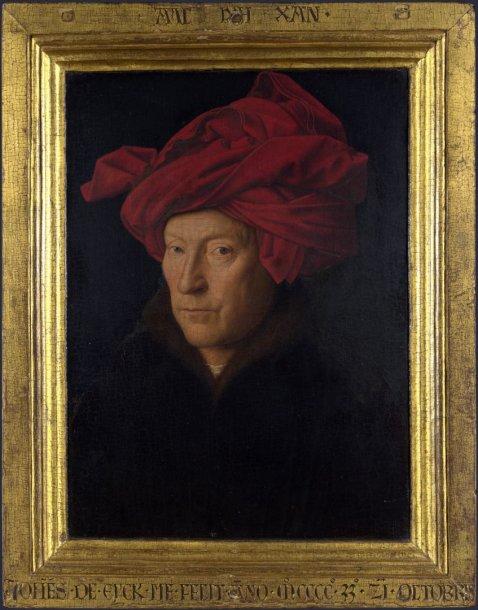 Numanomas Jano van Eycko autoportretas