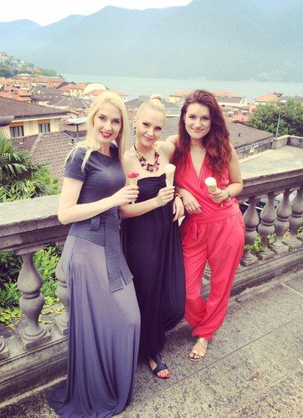 Kristina Ivanova, Laura Navikaitė ir Emilija Katauskaitė